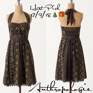 Edme & Esyllte Rhythmic Repetition dress 0